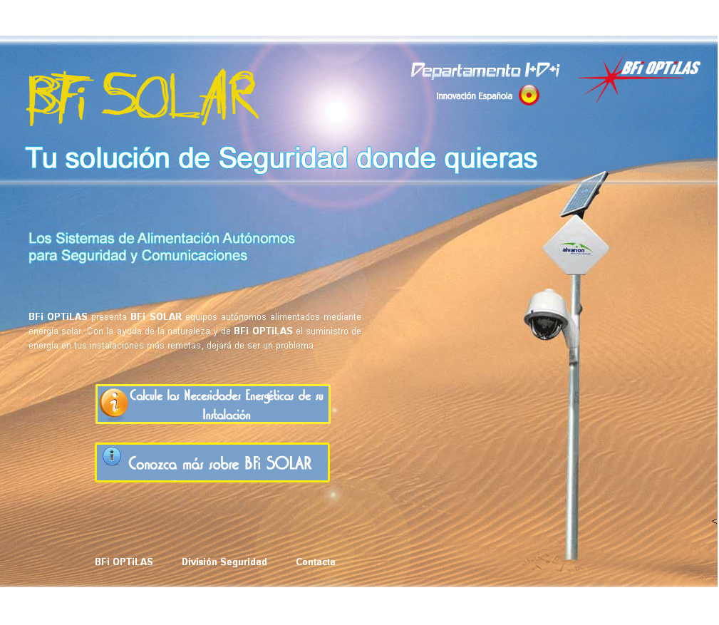 <p>España Solar</p>  <p>Groupe BFI Optilas</p>