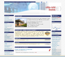 <p>Cité scolaire</p>  <p>Beaumont Redon</p>