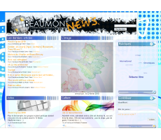 <p>Beaumont News</p>  <p>Webzine scolaire</p>